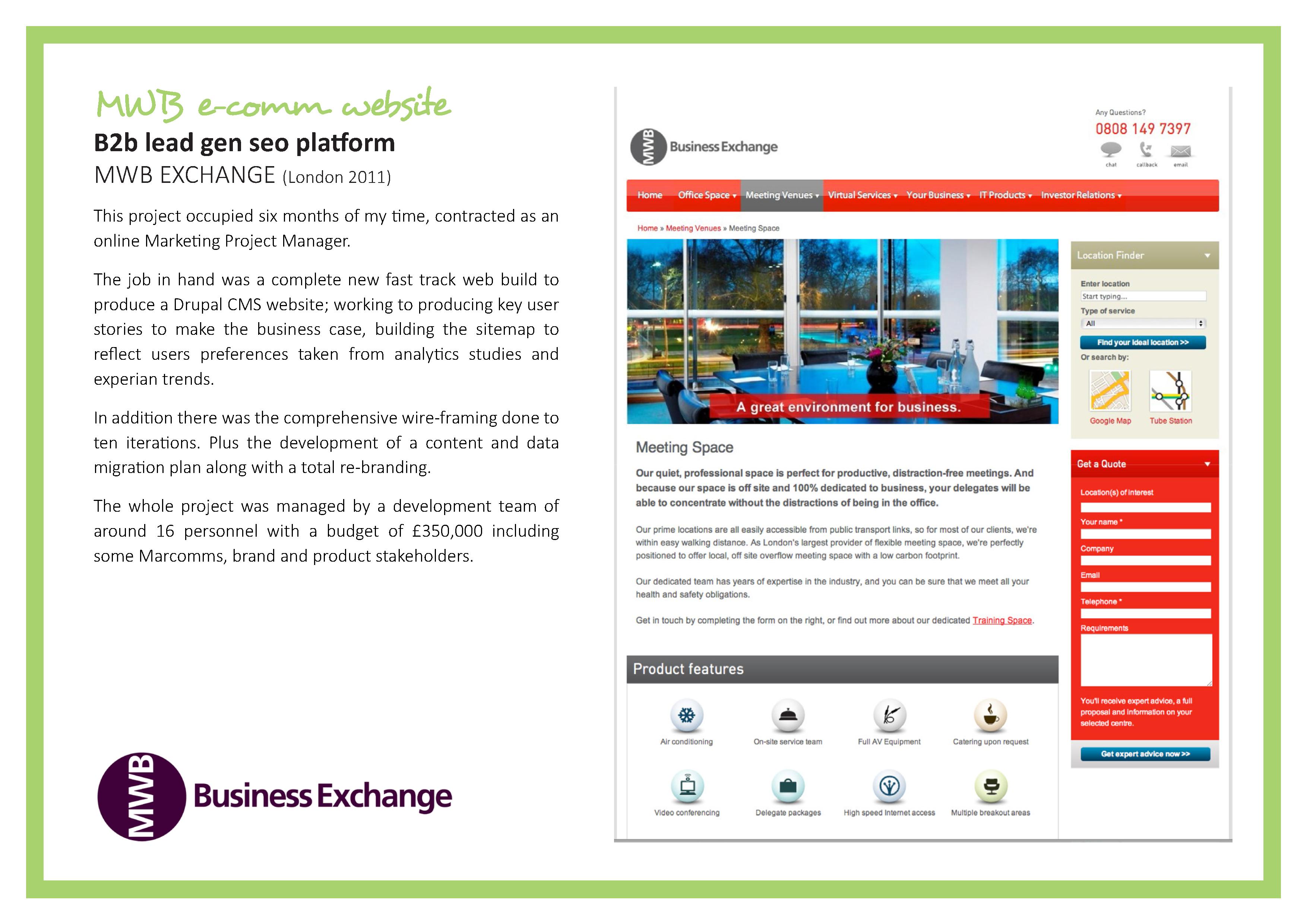 Property rental lead generation website